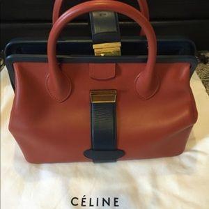Céline Calf Skin Doctor Bag/ Authentic